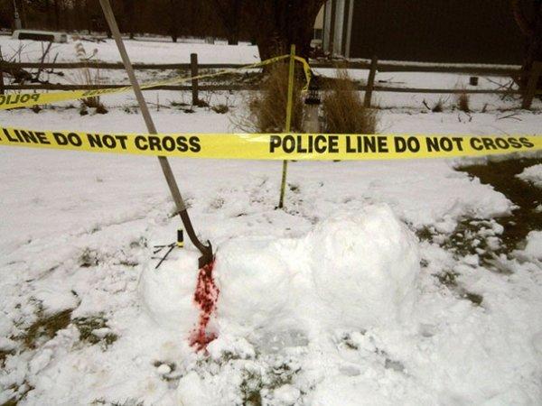 Прикольные снеговики