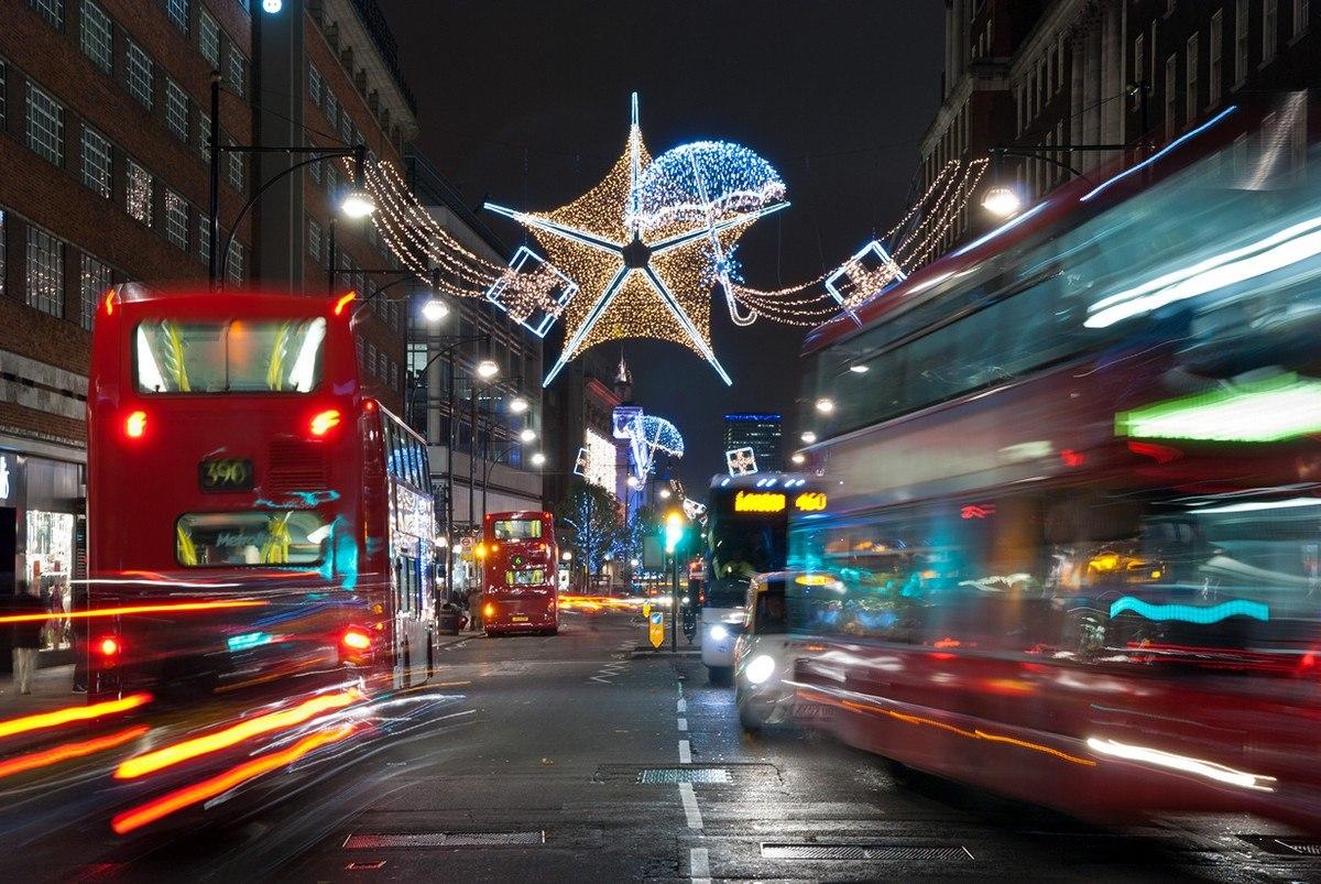 Рождественское время в Лондоне