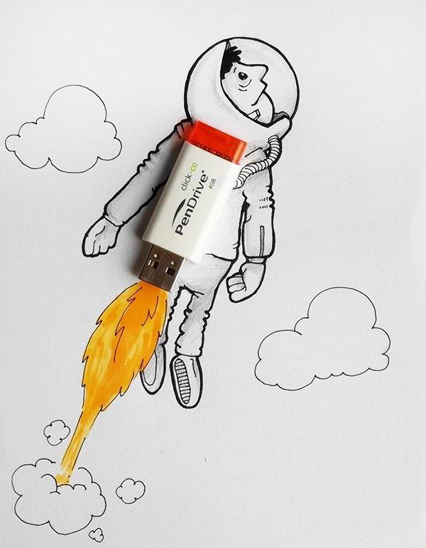 Картинки прикольный карандаш
