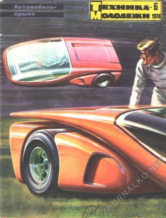 Транспорт будущего на обложках Техника-Молодёжи