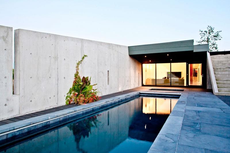 Дизайн современного загородного дома в Канаде