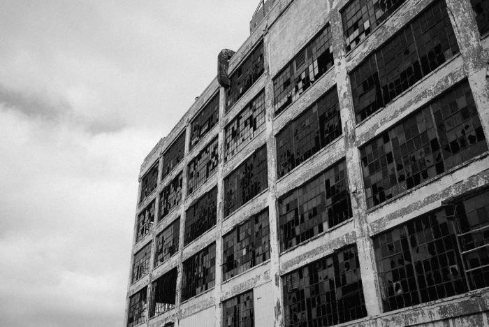 Фотографии с окраин Детройта