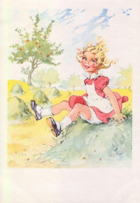 Немецкие открытки середины прошлого века