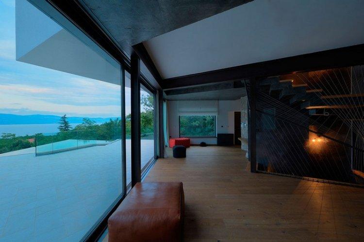 Современный частный дом в Хорватии