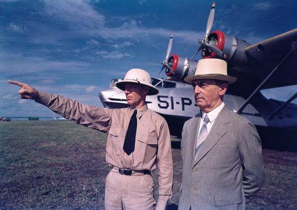 Цветные фотографии 1940-х