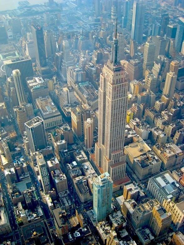 Самые первые небоскрёбы Нью-Йорка