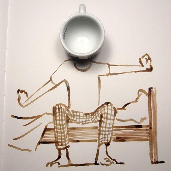Веселые иллюстрации с участием предметов