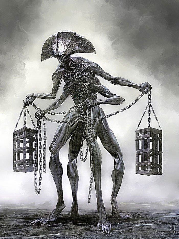 Символы знаков зодиака в представлении Дэмона Хелландбрэнда