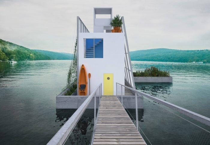 Дома на плаву от Carl Turner Architects