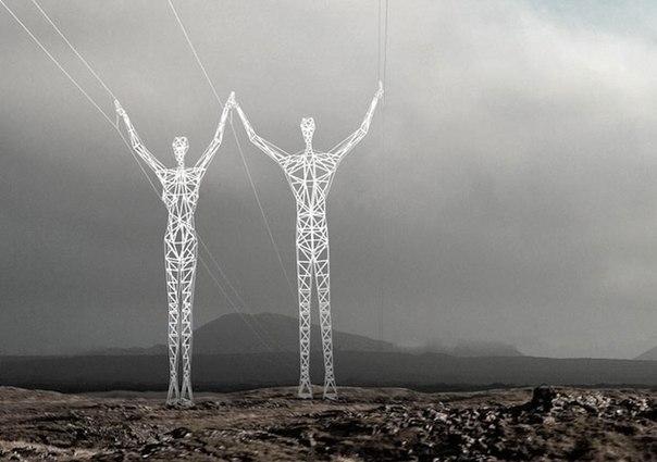 Электрические гиганты в Исландии