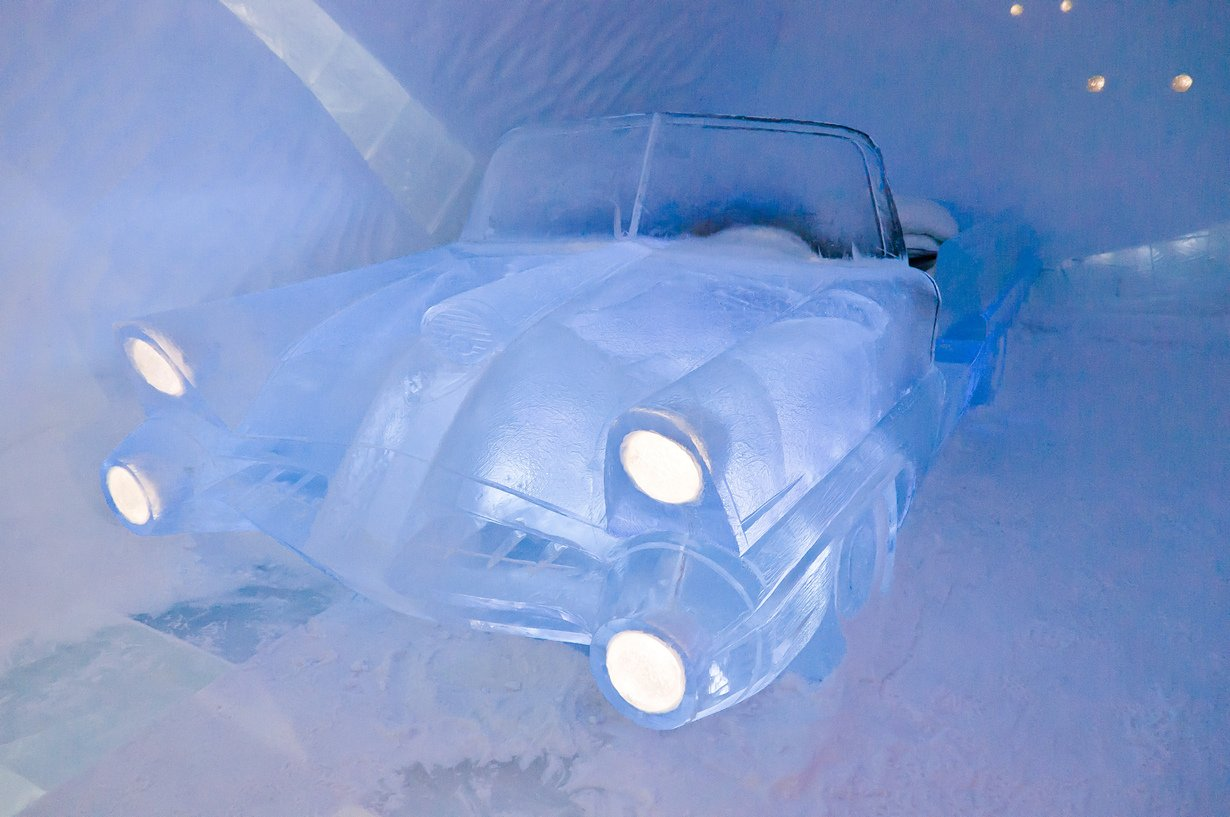Самый большой отель изо льда - ICEHOTEL