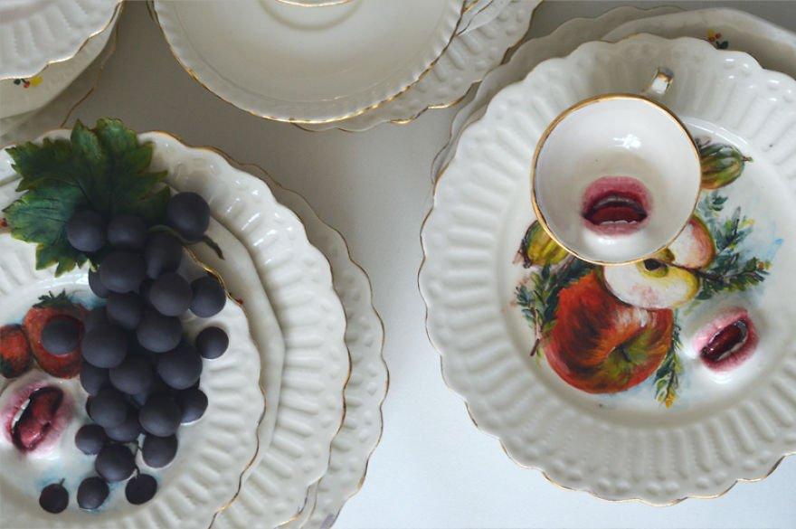 Необычная керамическая посуда