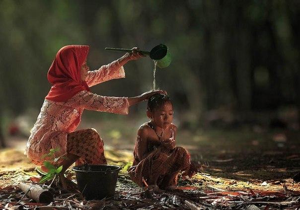 Дети индонезийских деревень