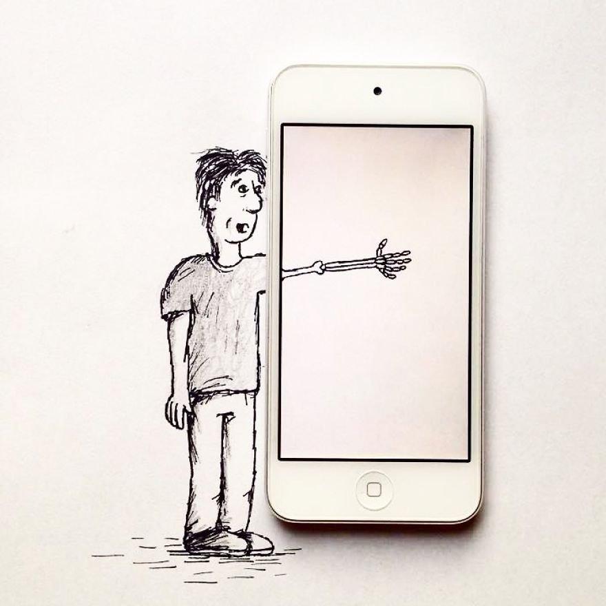 Иллюстрации Кристиана Менши