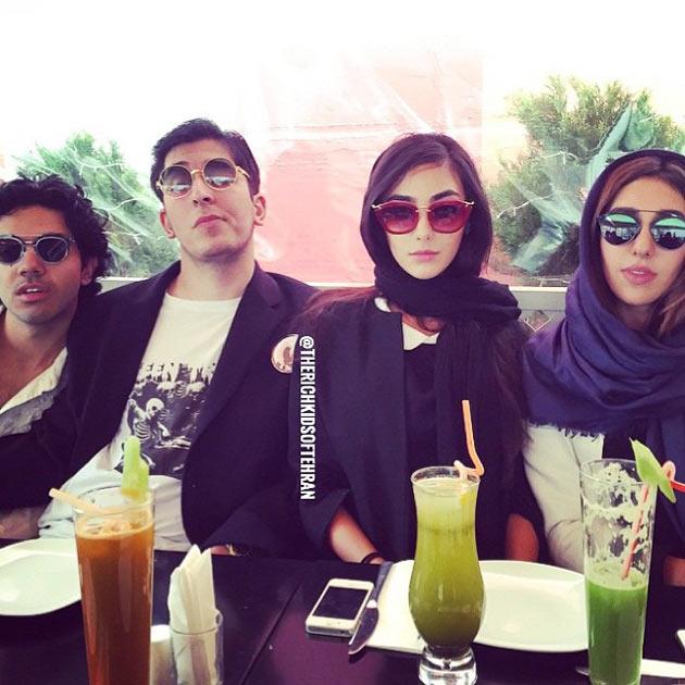 Богатые дети Тегерана