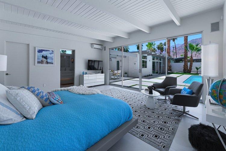 Одноэтажный особняк в Калифорнии