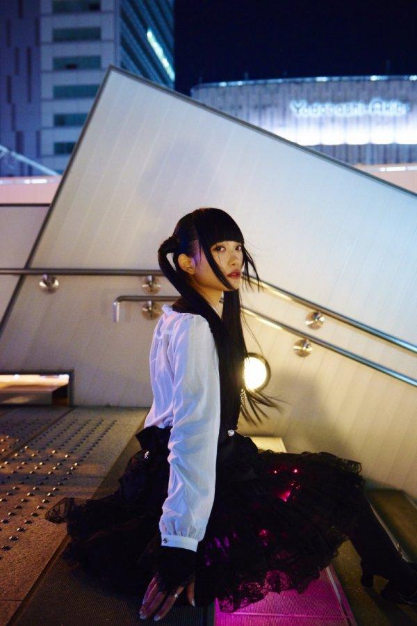 Сияющая юбка от японского дизайнера