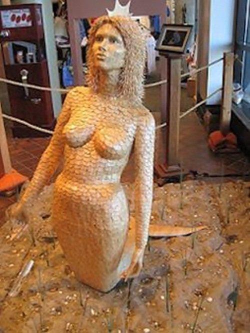 Художественные скульптуры из зубочисток