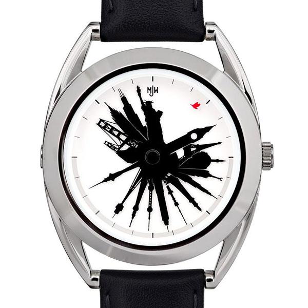 Самые оригинальные и необычные наручные часы
