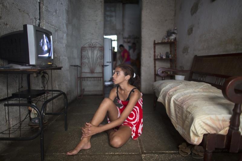 Фотографии повседневной жизни в Гаване