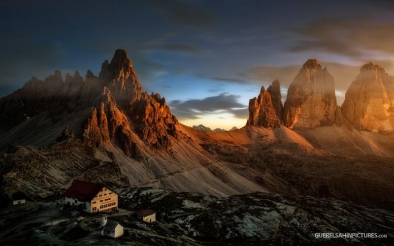 Пейзажи фотографа Гуереля Сахина