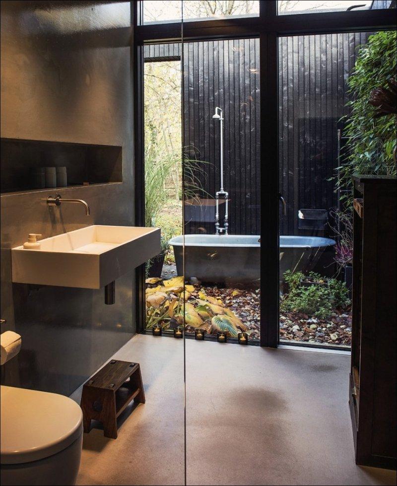 Подборка стильных ванных комнат