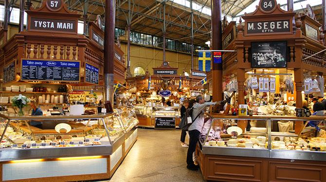 Самые красивые и яркие рынки Европы