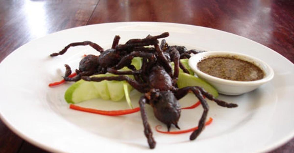 Самые необычные примеры уличной еды разных стран