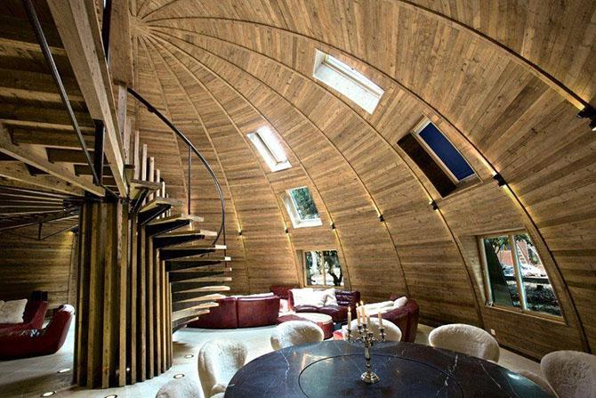 Дом-купол для творческих достижений