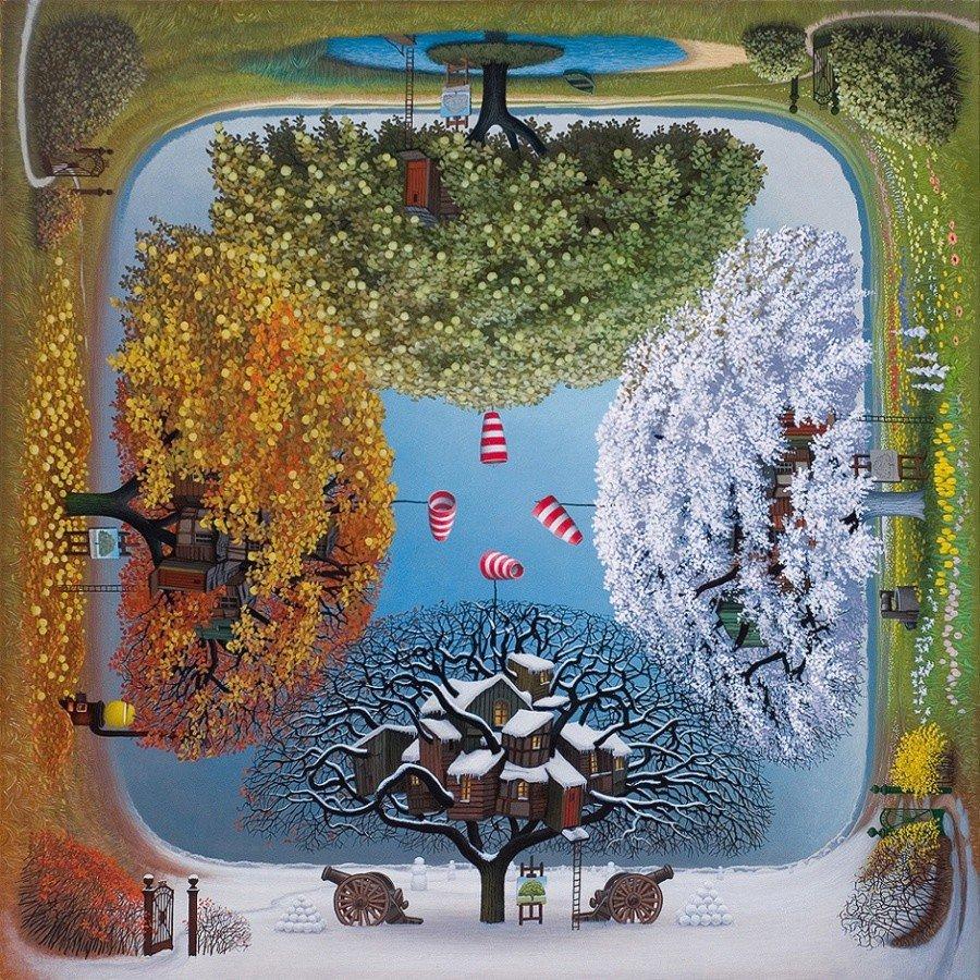 Фантазийные миры художников-сюррелистов