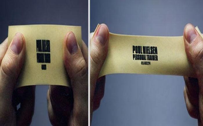 Невероятно креативные визитки
