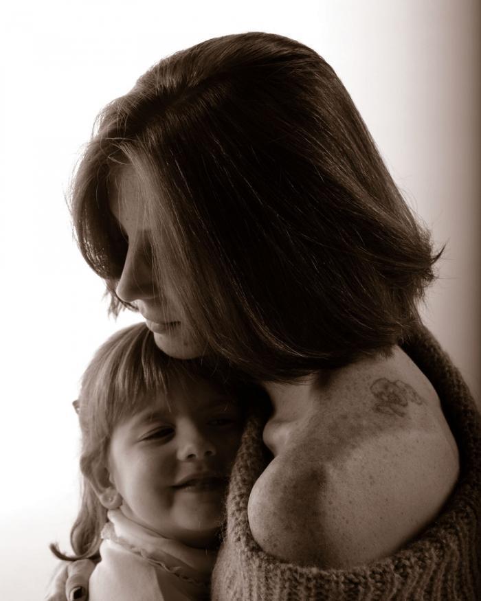 Нежные фотографии материнской любви