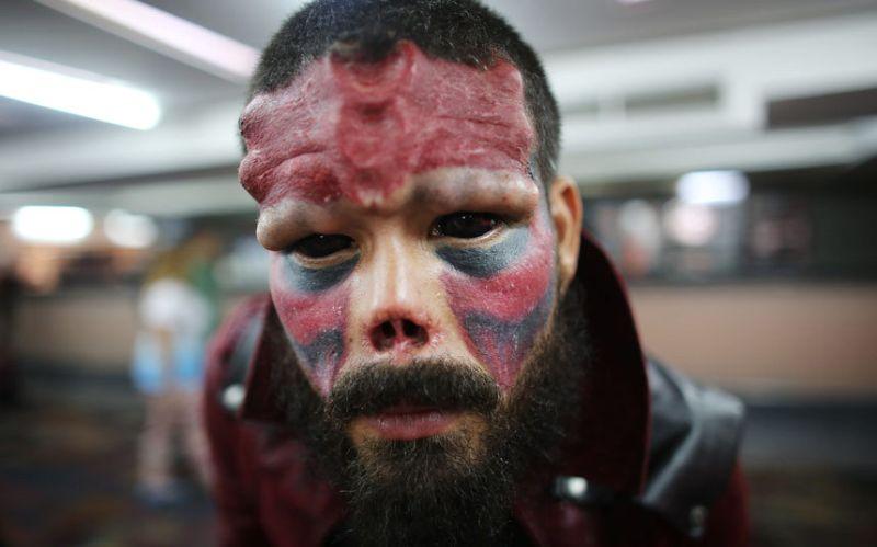 Самые яркие фрики Венесуэлы на Tattoo International Expo 2015