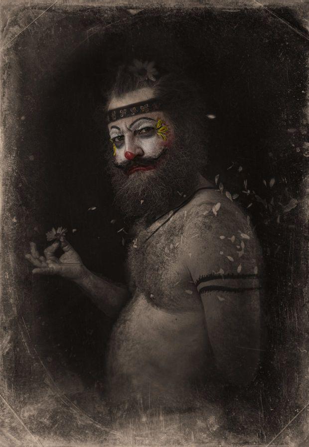 Пугающие клоуны римского андеграунда