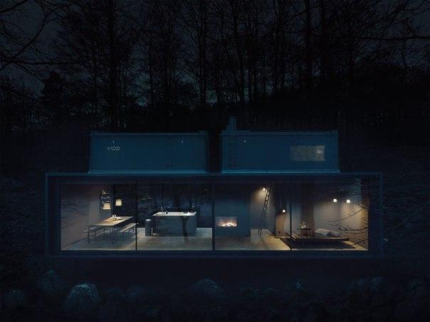 Минималистичный дом Vipp Shelter