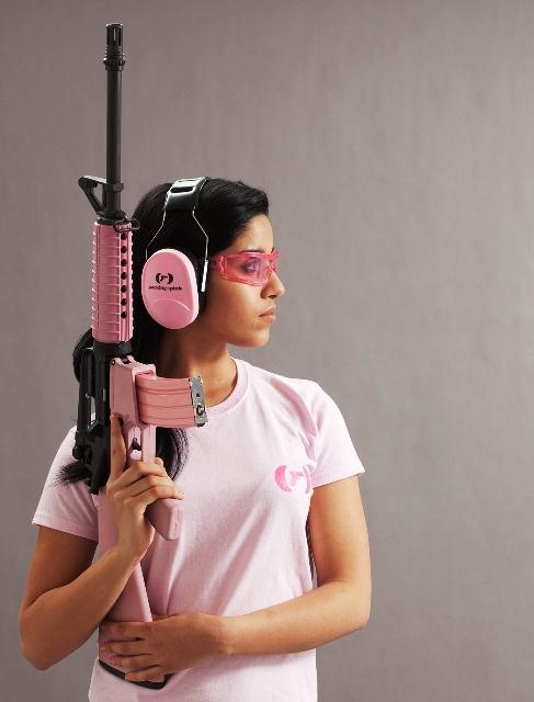Разноцветное оружие для дам