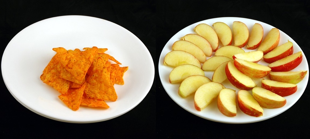 200 калорий в разных продуктах