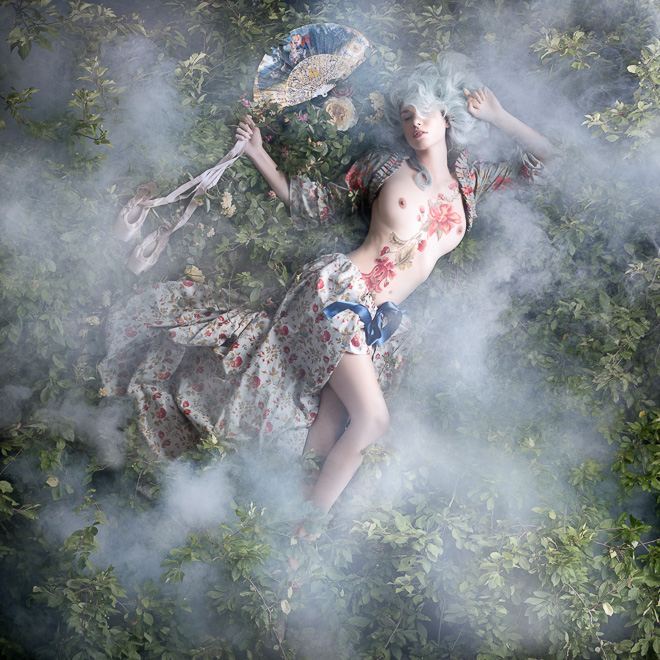Чувственные портреты из серии Рококо от Алексии Синклер