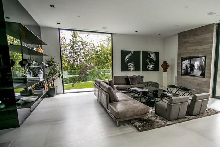 Двухэтажный современный частный дом в Беверли-Хиллз