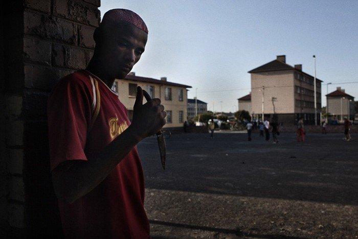 Уличная жизнь окраин Кейптауна