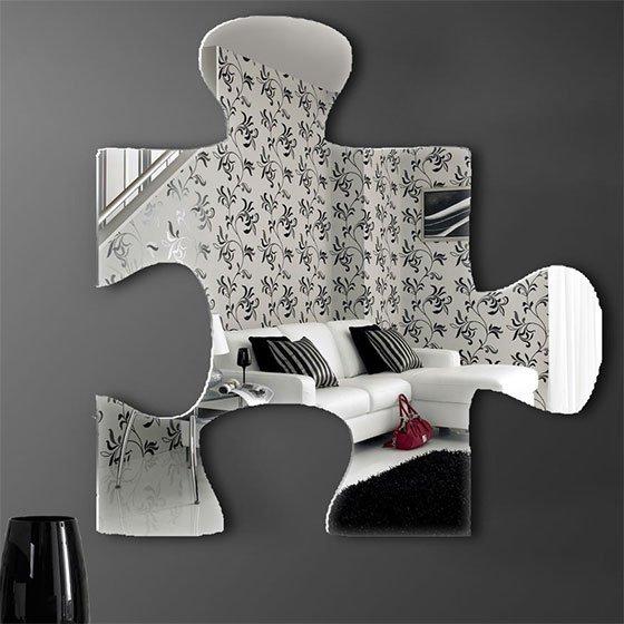 Необычные настенные зеркала