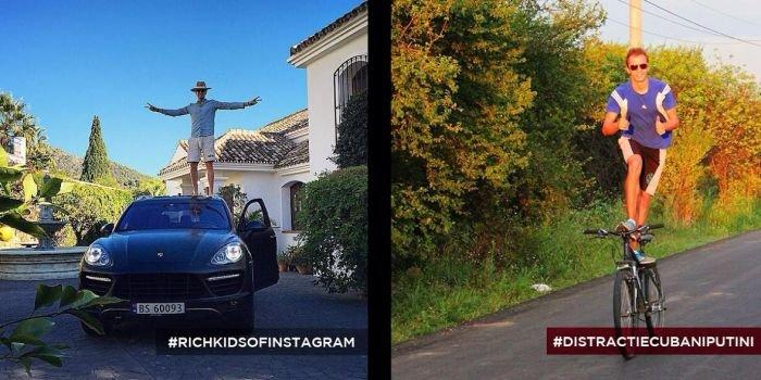 Румынская молодежь троллит богатых сверстников