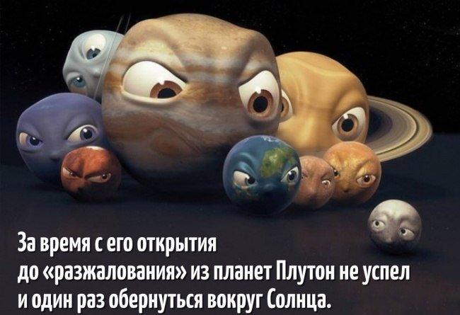 Забавные факты о жизни и космосе
