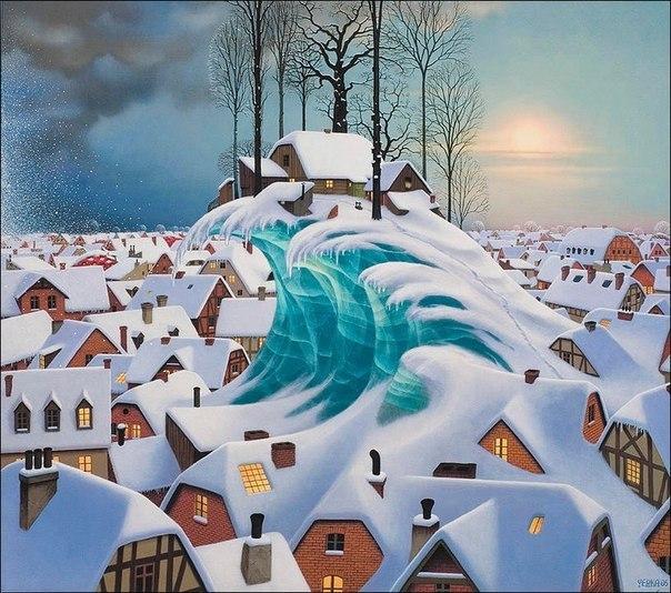 Завораживающие картины художника Jacek Yerka