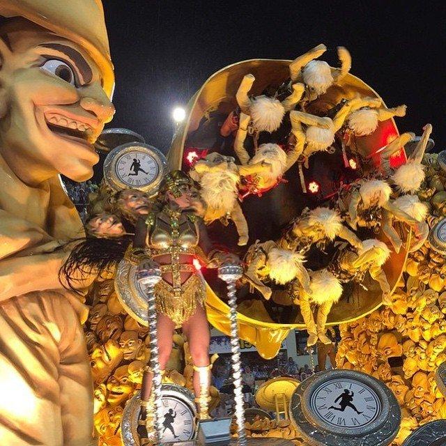 Карнавал в Рио-де-Жанейро в Instagram