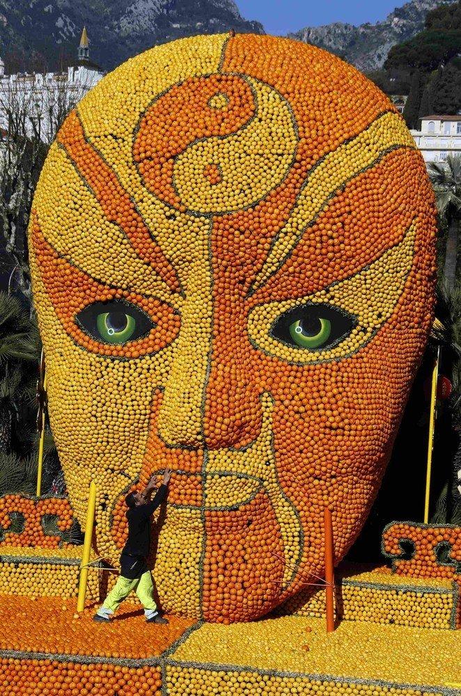 82-ой Фестиваль лимонов во Франции