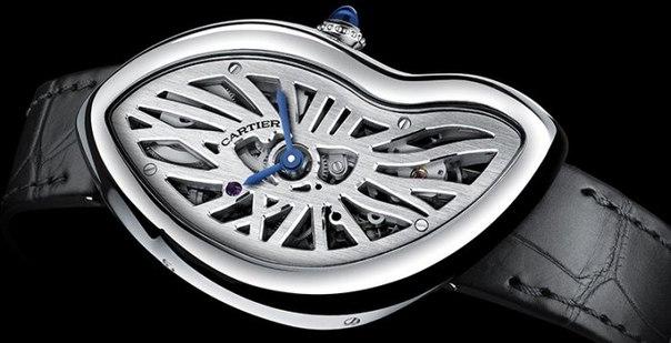 Cartier Crash Skeleton - деформация наручных часов