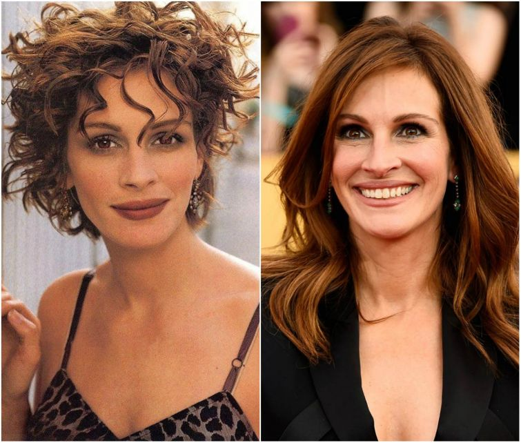 Звёзды Голливуда в 90-х и сейчас