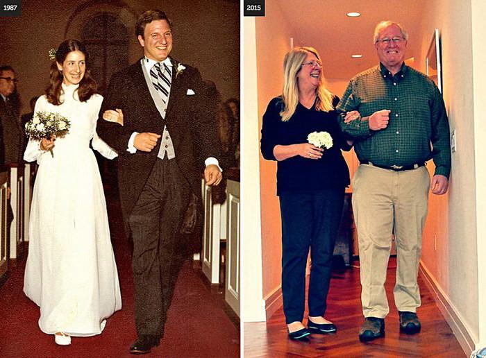 11 счастливых пар проживших вместе радостные годы