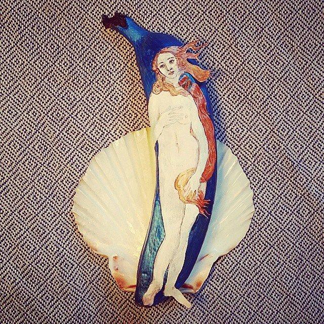 Разрисованные бананы от художницы Элизы Рош